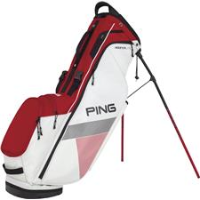 PING Hoofer Lite Personalized Carry Bag - White-Red-Black