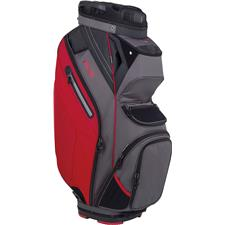 PING Pioneer Personalized Cart Bag - Graphite-Red