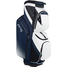 PING Traverse Personalized Cart Bag for Women - Navy-Silver-Mint