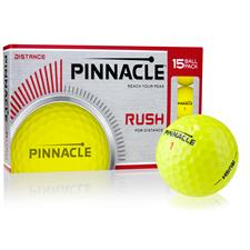 Pinnacle Rush Yellow Golf Balls - 15-Ball Pack