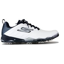 Skechers White-Navy Go Golf Focus 2 Golf Shoe Closeout