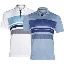 Skechers Men's Slice Engineered Stripe Polo