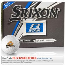 Srixon Custom Logo Q-Star Golf Balls