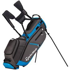Taylor Made Flextech Crossover Personalized Stand Bag - Gray-Blue