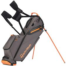 Taylor Made Flextech Lite Personalized Stand Bag - Gray-Orange