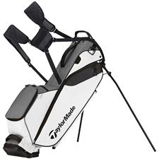 Taylor Made Flextech Lite Personalized Stand Bag - Gray-White