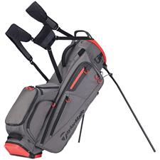 Taylor Made Flextech Personalized Stand Bag - Gray-Red