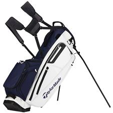 Taylor Made Flextech Personalized Stand Bag - Navy-White