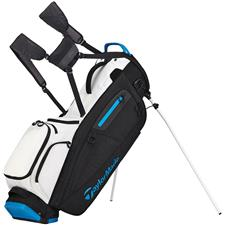 Taylor Made Flextech Personalized Stand Bag - White-Black-Blue