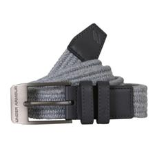 Under Armour Braided Belt 2.0 - Overcast Heather-Black - Size 38