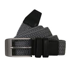 Under Armour Braided Belt 2.0 - Zinc Gray Solid - Size 40