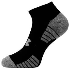 Under Armour Men's No Show 3 Pack Socks - Black
