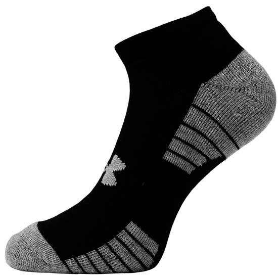 Under Armour Men's No Show 3 Pack Socks