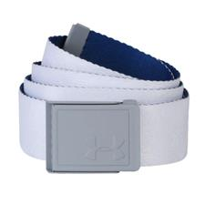 Under Armour Novelty Webbing Belt - White-Overcast