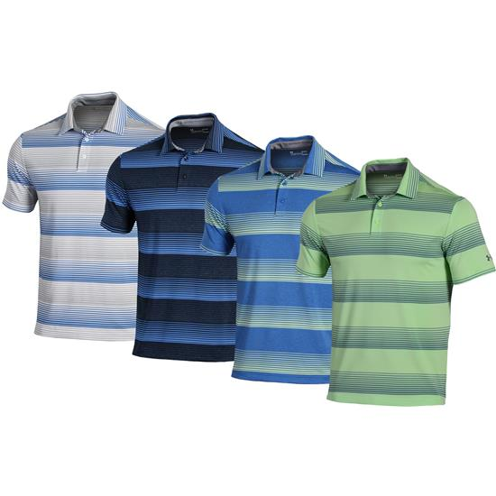 Under Armour Men's Playoff Blast Stripe Polo