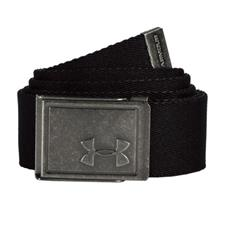 Under Armour Webbing Belt 2.0 - Black-Rhino - One Size Fits All