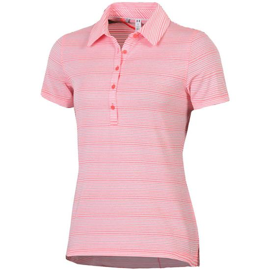 Under Armour Zinger Raised Stripe Polo for Women