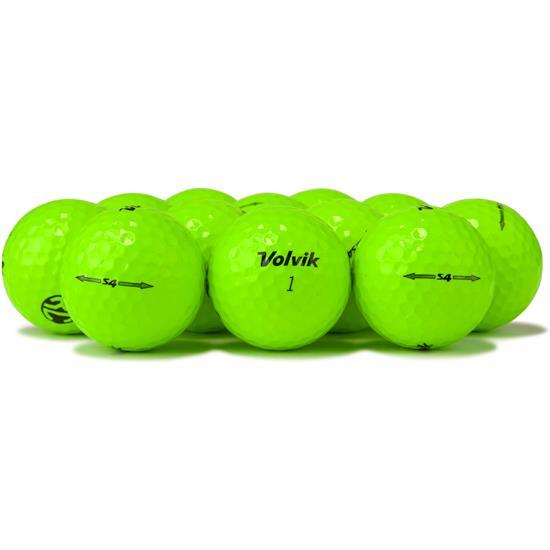 Volvik S4 Green Golf Balls