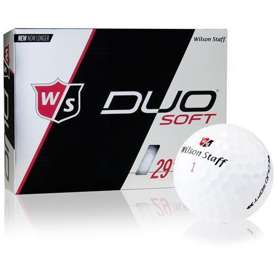 Wilson Staff Duo Soft Logo Overrun Golf Balls
