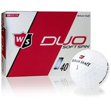 Wilson Staff Duo Soft Spin Personalized Golf Balls