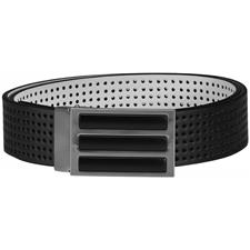 Adidas 3-Stripes Perforated Reversible Belt - Black - One Size Fits Most