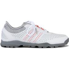 8693df875643a0 Adidas Light Grey-Easy Coral-Dark Silver Metallic Adipure Sport Golf Shoes  for Women