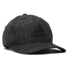Adidas Men's Heather Print Snapback Personalized Hat - Black