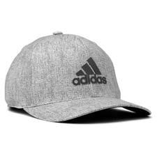 Adidas Men's Heather Print Snapback Personalized Hat - Grey Three