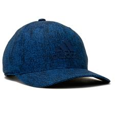 Adidas Men's Heather Print Snapback Personalized Hat - Trace Royal