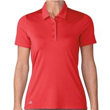 Adidas Real Coral Ultimate 365 Short Sleeve Polo for Women