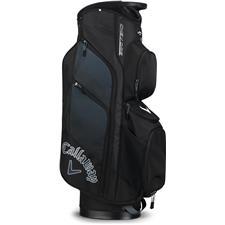 Callaway Golf Chev ORG Personalized Cart Bag - Black-Titanium-White