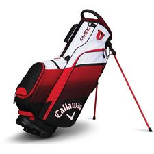 Callaway Golf Chev Personalized Stand Bag - Black-Red-White