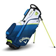 Callaway Golf Chev Personalized Stand Bag - Navy-Blue-Neon Green