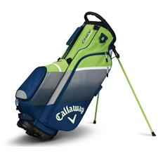 Callaway Golf Chev Personalized Stand Bag - Navy-Silver-Green