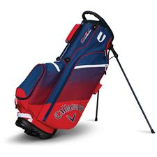 Callaway Golf Chev Personalized Stand Bag - Red-Navy-White