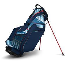 Callaway Golf Hyper-Lite 5 Stand Bag - Navy-Red-White