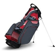 Callaway Golf Hyper-Lite 5 Stand Bag - Titanium-Red-Black
