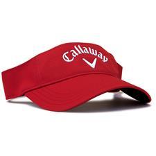 Callaway Golf Men's Liquid Metal Visor - Red-White