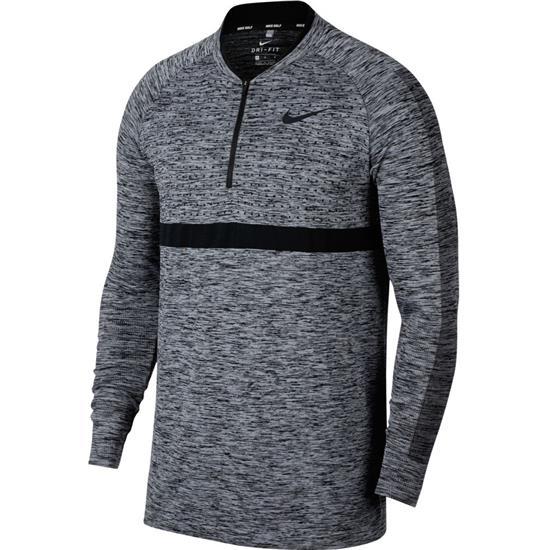 Nike Men's Dry Seamless Half Zip Pullover