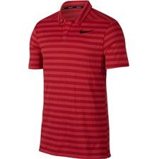 Nike Tropical Pink-Black Dry Stripe Polo