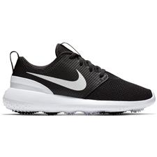 Nike Black-White Roshe G Junior Golf Shoes