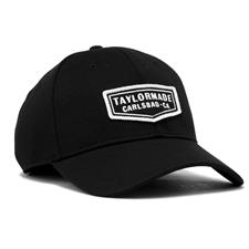 Taylor Made Men's Lifestyle Cage Hat - Black - Small/Medium