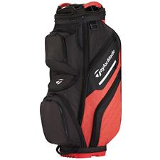 Taylor Made Supreme Personalized Cart Bag - Black-Red