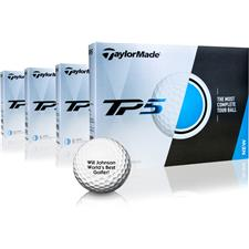 Taylor Made TP5 Golf Balls - Buy 3 Dozen Get 1 Dozen Free