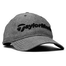 Taylor Made Men's Tradition Lite Heather Personalized Hat - Black