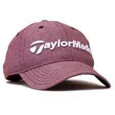 Taylor Made Men's Tradition Lite Heather Personalized Hat - Cardinal