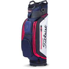 Titleist Club 14 Personalized Cart Bag - Navy-White-Red