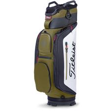 Titleist Club 14 Personalized Cart Bag - Olive-White-Black