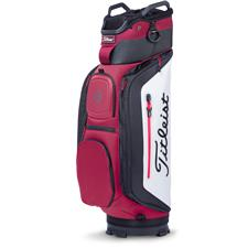 Titleist Club 14 Personalized Cart Bag - Rhubarb-White-Black