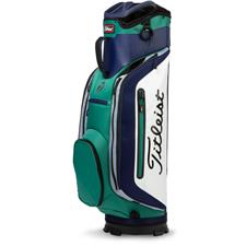 Titleist Club 7 Personalized Cart Bag - Navy-Hunter Green-Silver